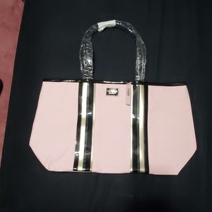 NWT Victoria's Secret tote light pink